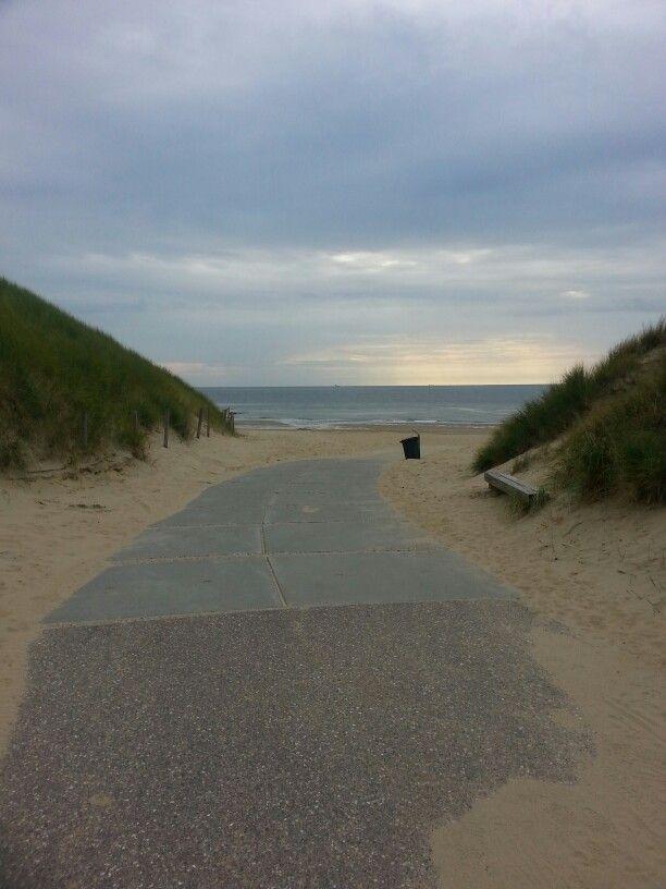 De duinen in Den Helder