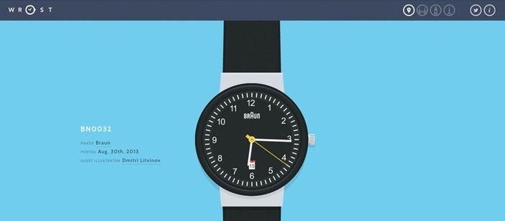 Designer & developer Matt Johnston explores new techniques in this bi-weekly series. http://cssgold.com/wrist/