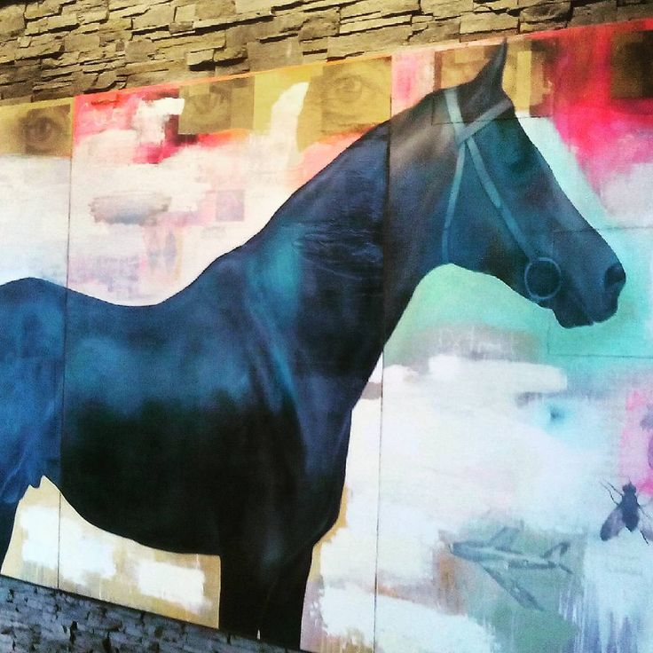 #art #artwork #design #horse #unique #boutiquehotels #hotelarts #Calgary #capturecalgary #StylishDestinations