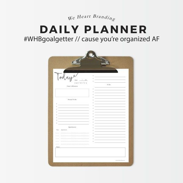 121 best Planner Obsession images on Pinterest Planners - free daily planner download