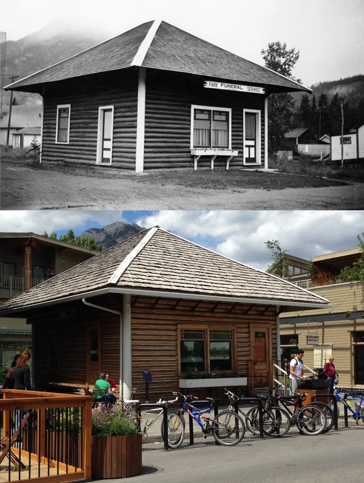 Built between 1888 and 1890, the Old Crag Cabin is one of Banff's oldest buildings and has housed everything from a funeral home to a newspaper office. It was restored in 1999 and now has a permanent home in the Bison Courtyard on Bear Street. Learn more at http://banff.ca/landmarks