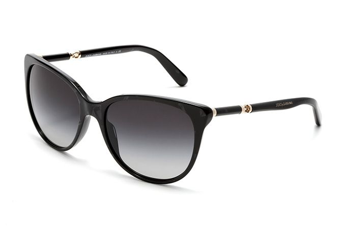 sunglasses for women 2015  Women\u0027s black acetate sunglasses with butterfly frame by Dolce ...