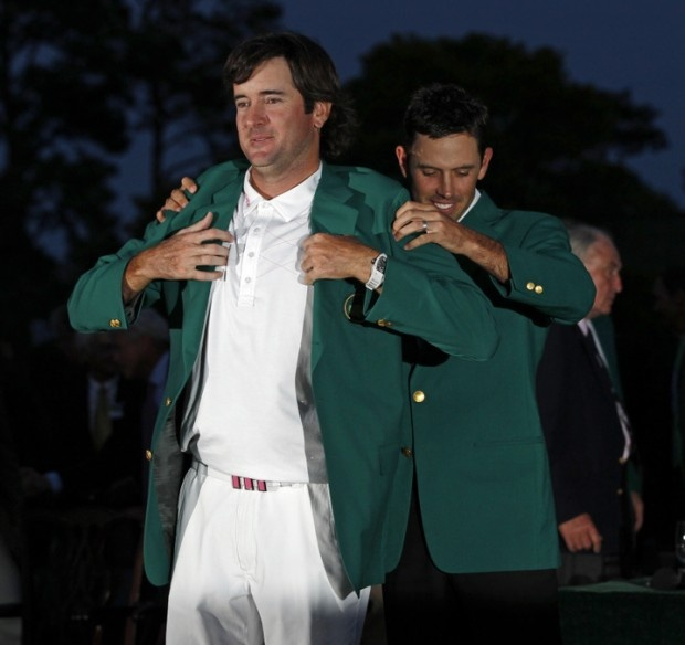 Bubba Watson Wins 2012 Masters Tournament Wearing Richard Mille Watch: Green Blazer, Sports Highlight, Favorite Places, Golf Stuff, Sports Personalities, Watson 2012 Masters, Bubba Watson 2012