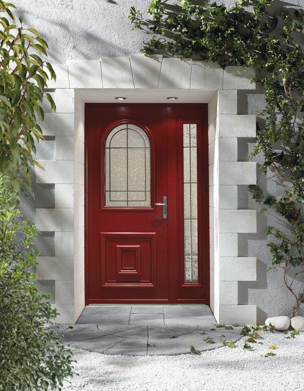 Porte d 39 entr e aluminium zilten mod le kot a pr sent for Modele entree maison