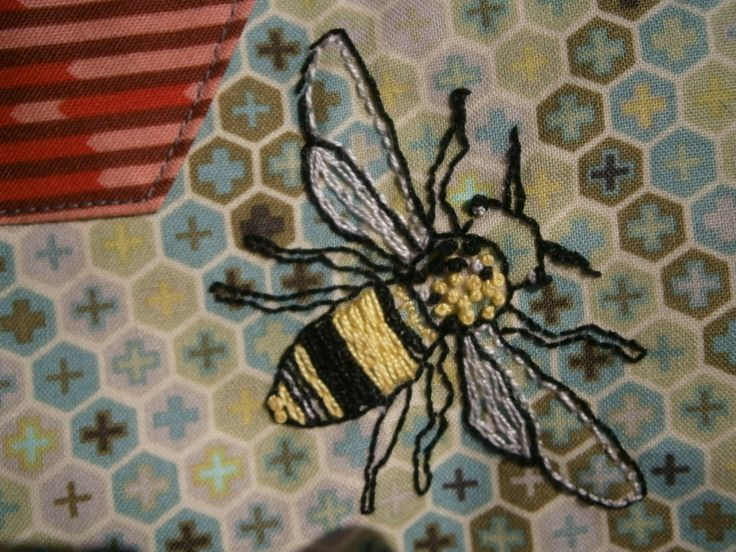 Embroidery honeycomb stitch : Best honeycomb quilt images on pinterest bees