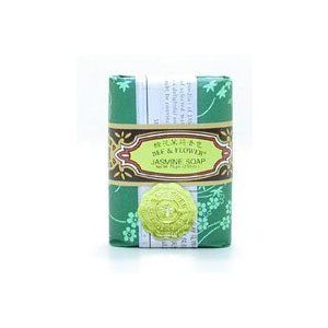 Soap-Jasmine - 4.4 oz - Bar by Bee and Flower Soaps. $3.93. Bee & Flower. Bee & Flower Soaps are famous traditional products with oriental style in package, fragrance, style and color. Soap-Jasmine by Bee and Flower Soaps 4.4 oz Bar Soap-Jasmine 4.4 oz. Bar Jasmine scented soap for your enjoyment. Made with selected materials and natural jasmine essence which gives you a delightful and lasting fragrance. Bee Flower Soaps are famous traditional products with oriental styl...