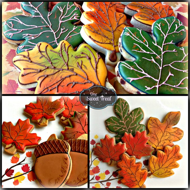 Fall Leaves   By Mayra  http://www.OneSweetTreat.com