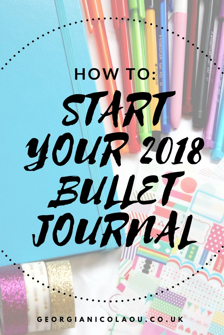 HOW TO START A BULLET JOURNAL | BUJO    don't know where to begin with your new bullet journal. have no fear, i am here to help you on how to set up your bullet journal for 2018