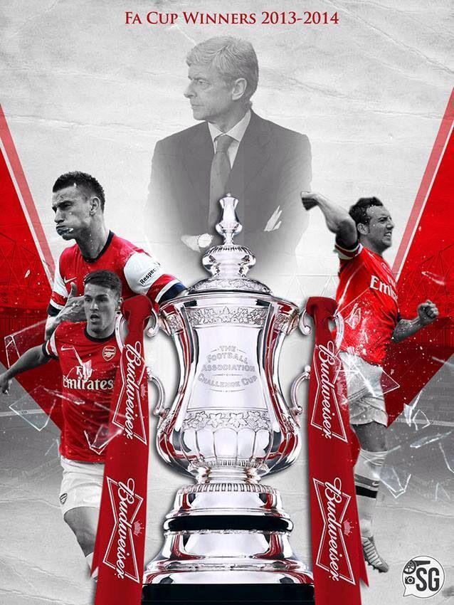 Arsenal - FA Cup Winners 2014