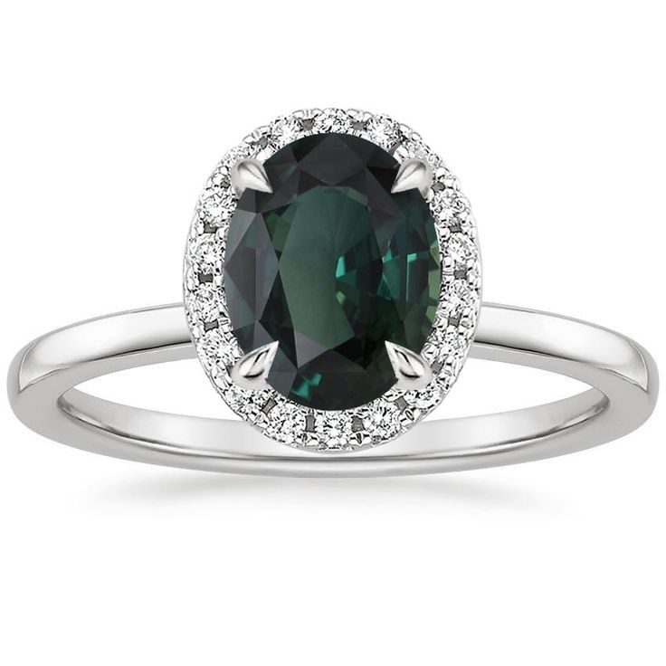 25 best ideas about Teal engagement ring on Pinterest