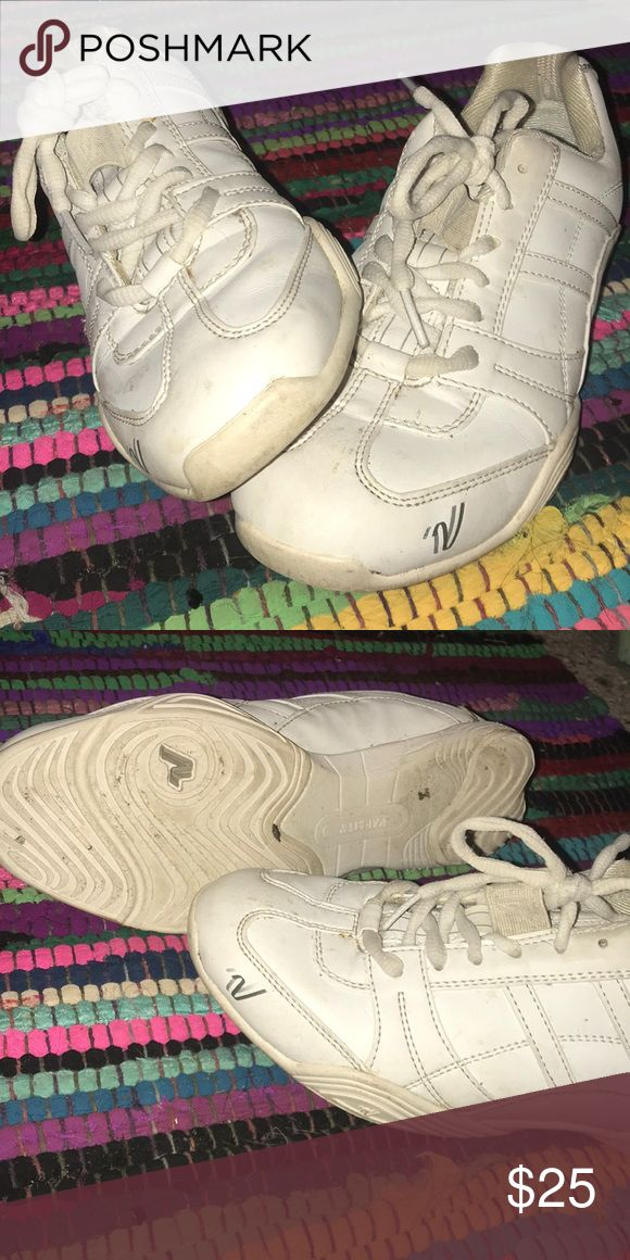 Varsity cheer shoes All white varsity cheer shoes, worn to a few basketball games varsity Shoes Athletic Shoes