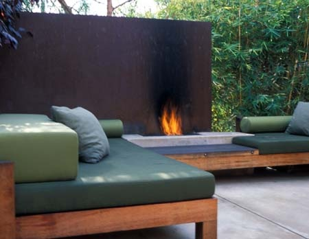 Venice outdoor fire pit