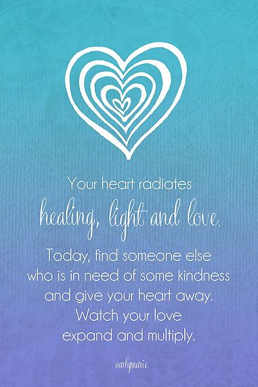 Radiating Heart by CarlyMarie..for me obe chande...give all the love, but not your heart...open your heart..