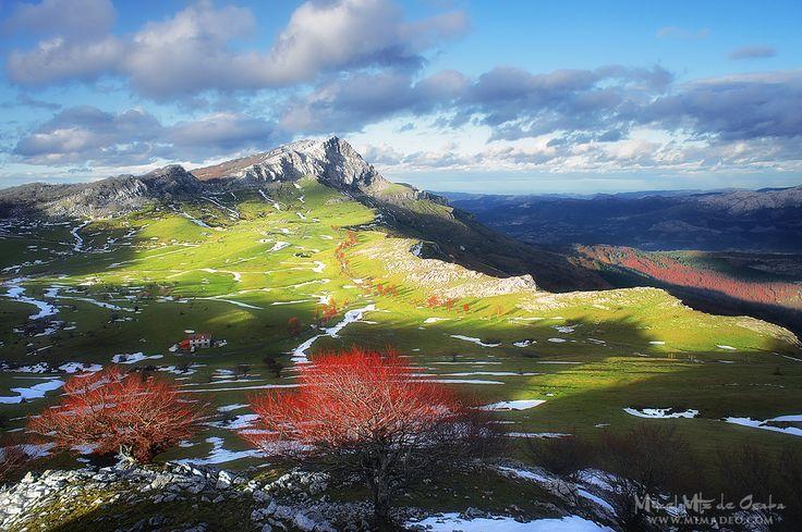 Las Campas de Arraba, uno de mis lugares favoritos del #Gorbea. #Gorbeia #Euskadi #PaisVasco #Euskadi