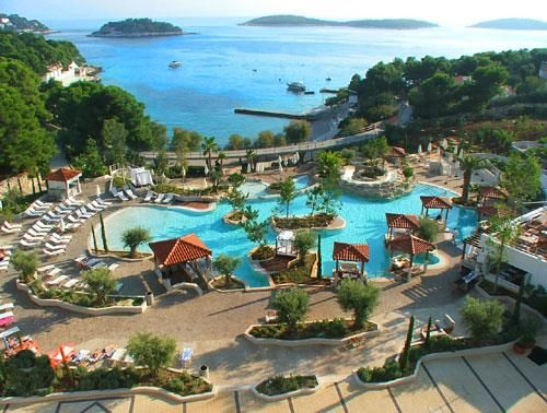 Hotel Amfora Grand Beach Resort, 4 star hotel in Hvar, Croatia |