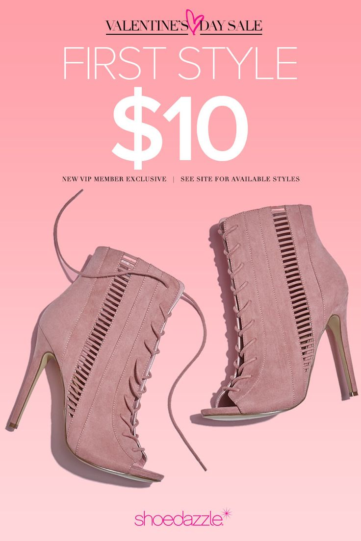 Fall in love this V-Day with a new pair of shoes! New Shoedazzle VIPs get their first pair for only $10! As a VIP, you'll enjoy a new boutique of personalized styles each month, as well as exclusive pricing, early access to sales & free shipping on orders over $39. Don't think you'll need something new every month? No problem – click 'Skip The Month' in your account by the 5th and you won't be charged. Follow those hearts in your eyes by clicking on the photo and taking the Style Quiz!