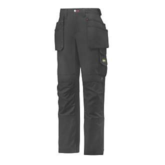 Snickers 3714 Holster Ladies Trousers Size 12-14 31 waist. Multi-pocket ladies work trousers. Workwear gusset in the crotch and a low, shaped waistband for a comfortable yet durable fit. 100% Cordura reinforced knees. http://www.MightGet.com/january-2017-13/snickers-3714-holster-ladies-trousers-size-12-14.asp