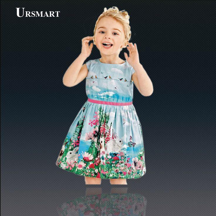 Bébé fille robe été Style bébé vêtements pour enfants robes robes pour enfants
