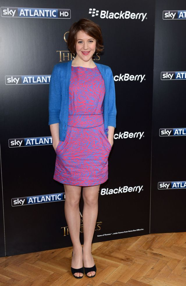London United Kingdom March 26 Gemma Whelan Attends The Season Launch Of Game Of Thrones At One Maryle Coloured Girls Dresses For Work How To Look Pretty