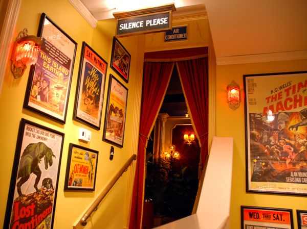 Diy 50s Theater Room Gallery Entrance Poster And The