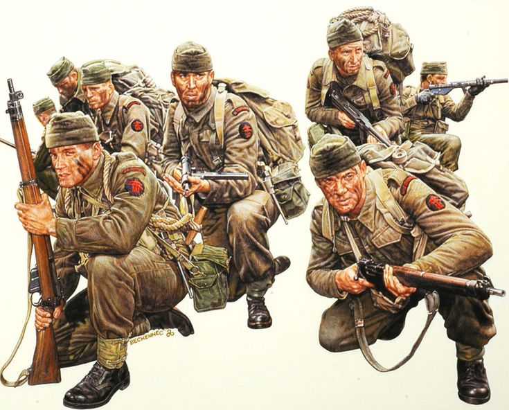 BRITISH ARMY - Commandos Britannici - Más Bechennec