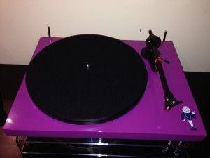 Pro-Ject Dinosaur Jr. Custom Turntable is quite purple