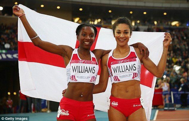 Jodie WILLIAMS [Silver], [Women's 200m] Bianca WILLIAMS [Bronze], [Women's 200m]  England