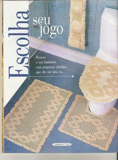 Any inspirations Croche with Lucy: Set of Bathrooms