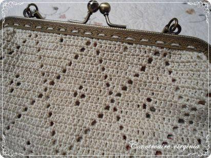 Ideas para hacer bolsos y monederos de ganchillo
