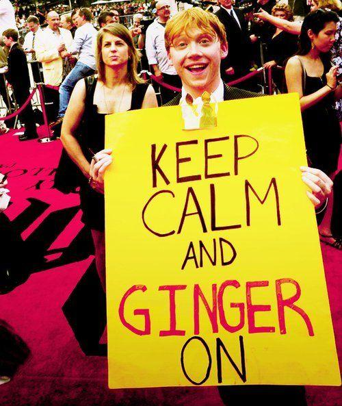 ha ha: Laughing, Rupert Grint, Giggl, Keepcalm, Rupertgrint, Keep Calm, Harry Potter, Gingers, Ron Weasley