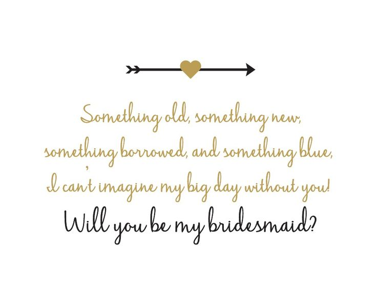 Best 25+ Bridesmaid Poems Ideas On Pinterest