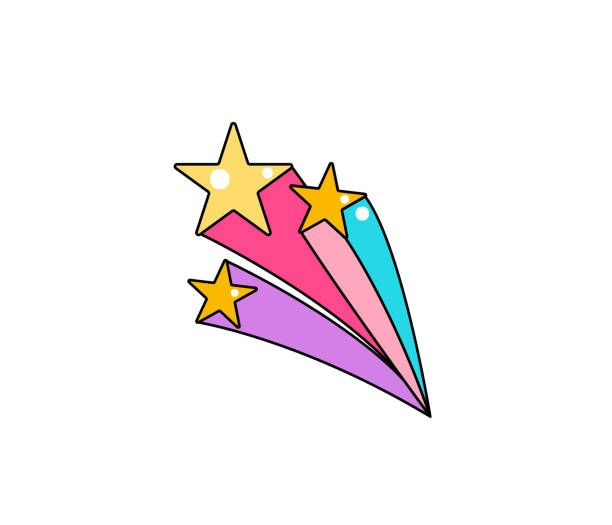 Shooting Star Vector Illustrations Royalty Free Vector Graphics Clip Art Istock In 2021 Shooting Stars Star Illustration Free Vector Graphics