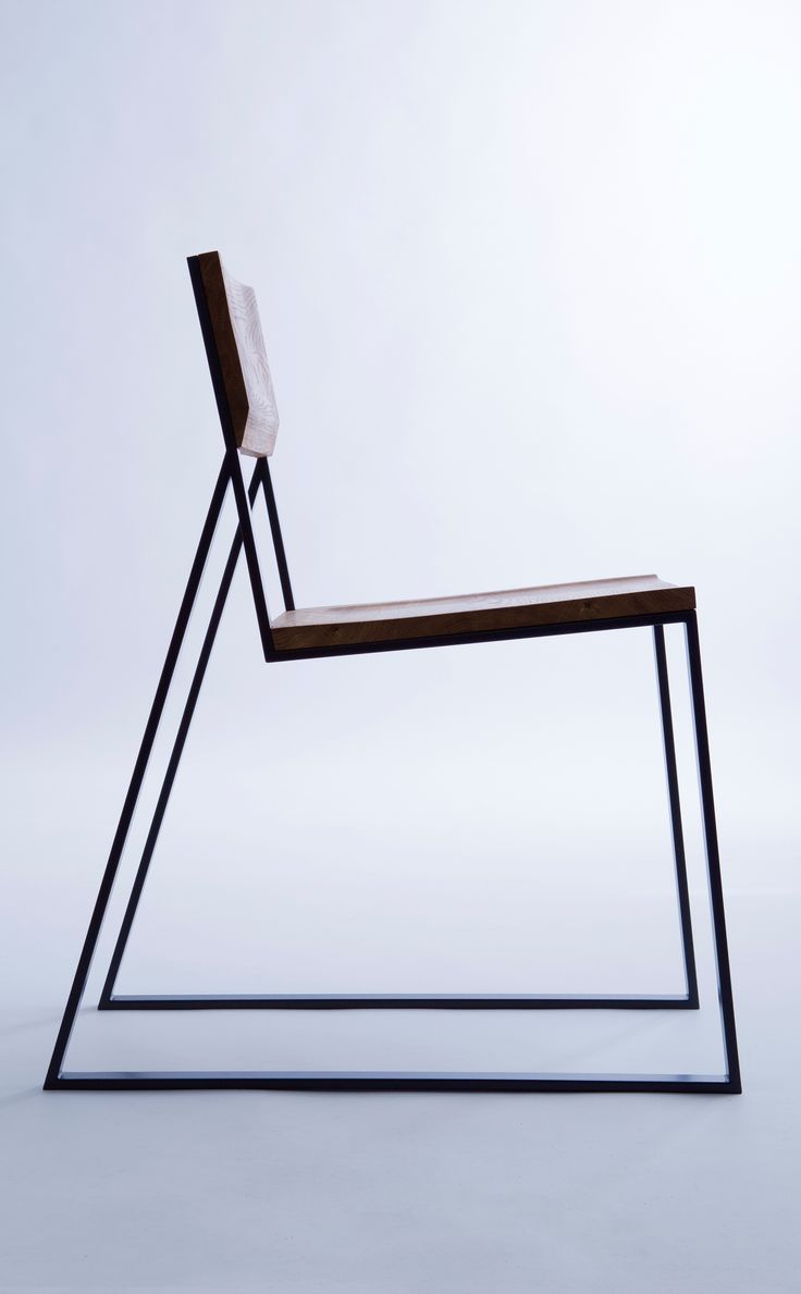 Designer metal chairs - A Chair That S Full Of Contrasts