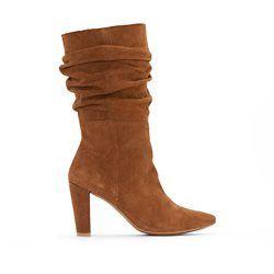 Boots mit Knautscheffekt R studio - Damenschuhe