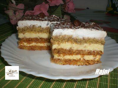 Receptek, és hasznos cikkek oldala: Petre -Román sütemény