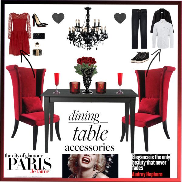 """""""The most stylish dining table !"""" by red-fashion on Polyvore"""