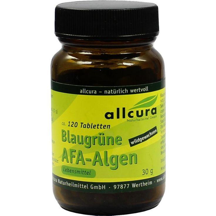 AFA ALGEN 250 mg blaugrün Tabletten:   Packungsinhalt: 120 St Tabletten PZN: 00744456 Hersteller: allcura Naturheilmittel GmbH Preis:…