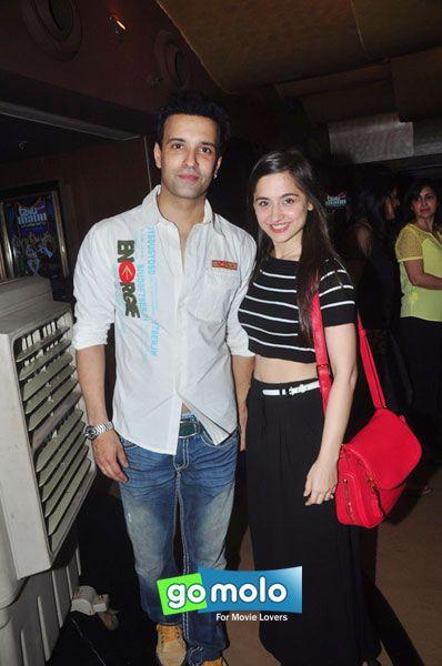 Aamir Ali & Sanjeeda Sheikh at the Premiere of Hindi movie 'Tanu Weds Manu Returns' at PVR Cinemas in Juhu, Mumbai