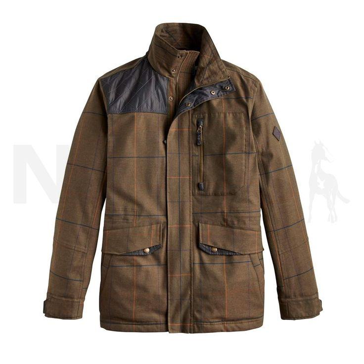 Joules Mens Brinkworth Tweed Look Fieldcoat Tweed Check