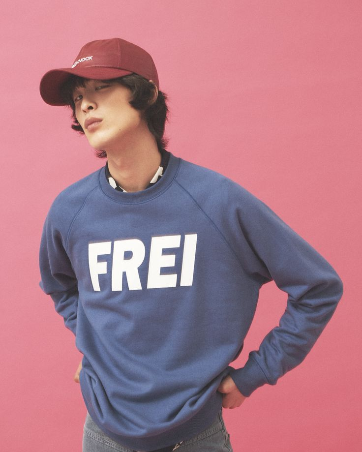 "FREIKNOCK 17S/S LOOKBOOK ""REFORMATION"" FREIKNOCK BIG LOGO SWEAT SHIRTS"