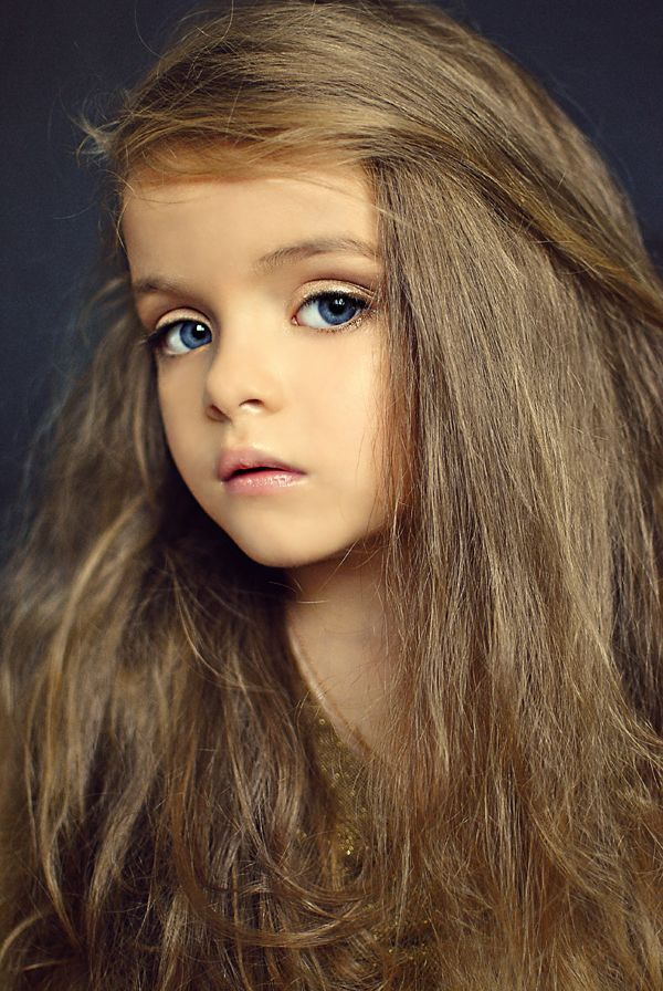 Milana Kurnikova, a Russian child model.