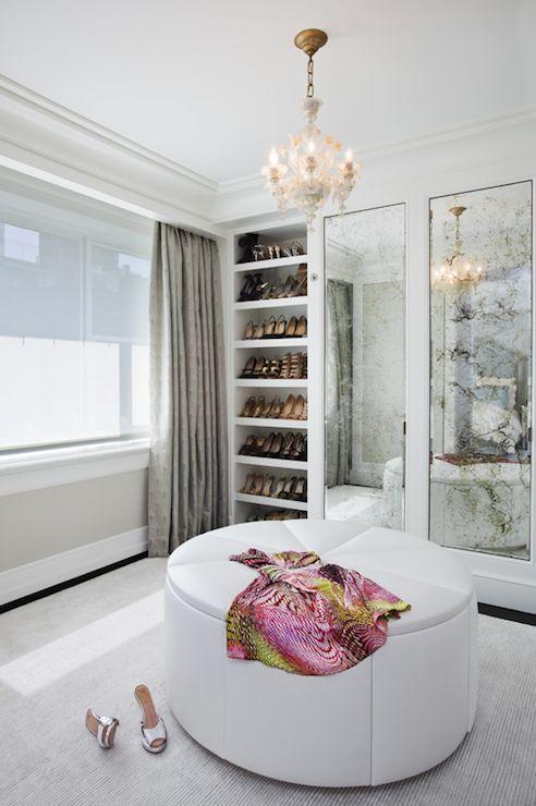 Glamorous closet and dressing room by Grade Architecture & Interior Design - walk-in closet design ideas