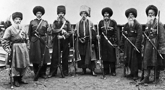 The Don Cossacks. The end of the 19th century