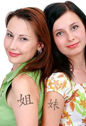 """Tattoo Symbols for Sister Ideas. I liked """"A butterfly that depicts how your love has grown and flourished over the years"""" Reminded me of Us :P"""