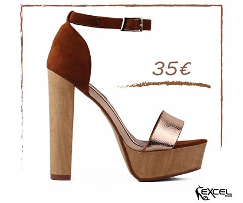 The Hottest Shoe Trends for Spring 2017! Madge 35€ #excelshoes #ss17 #spring #summer #2017 #shoes #women #womenfashion #heels #thessaloniki #papoutsia #gunaika #παπουτσια #moda