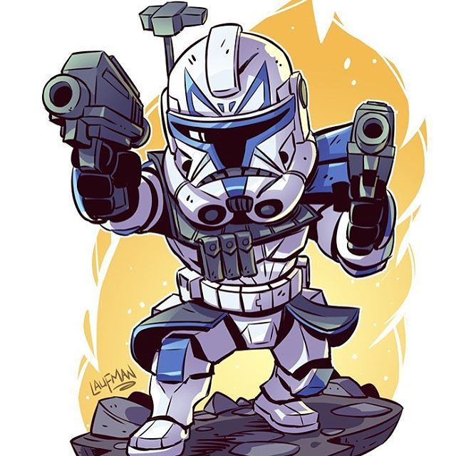 Derek Laufman En Instagram Show Captain Rex Some Love This Time Tomorrow My New Clone Wars Prints Wi Star Wars Drawings Star Wars Cartoon Star Wars Artwork