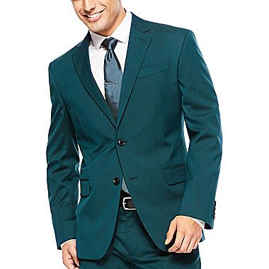 Buy JF J Ferrar Teal Suit Jacket Slim Fit today at jcpenneycom You deserve great deals and weve got them at jcp!