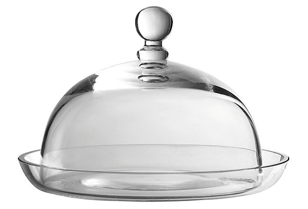 Small Dish & Cloche on OneKingsLane.com: Bell, Belle Jars, Glasses Dishes, America Retold, Chees Ball, Kitchens Products, Small Dishes, Butter Dishes, Apothecaries Jars