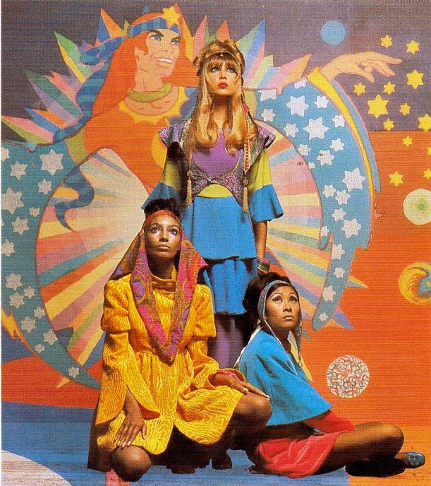 Fashion from The Apple Boutique, c. 1967