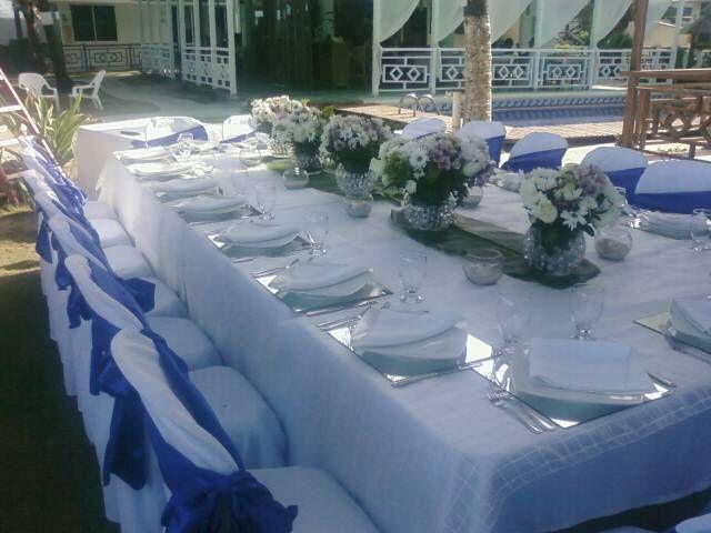 centros de mesa largo